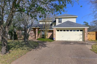 College Station Single Family Home For Sale: 2807 Rayado Court