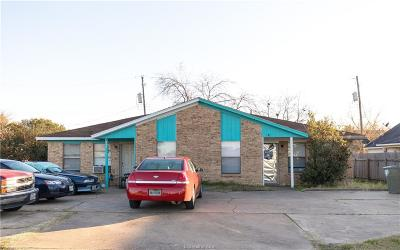 Brazos County Multi Family Home For Sale: 2377-2379 North Earl Rudder
