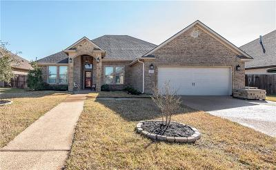 Bryan Single Family Home For Sale: 3028 Archer Circle
