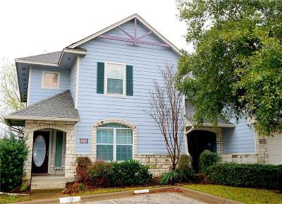 College Station Condo/Townhouse For Sale: 1251 Canyon Creek