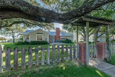 College Station Single Family Home For Sale: 101 Lee Avenue