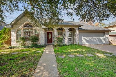 Brazos County Single Family Home For Sale: 607 Yorkshire Drive