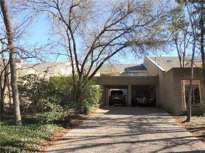 College Station Single Family Home For Sale: 15 Forest Dr