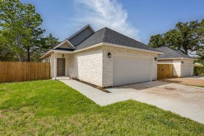 Brazos County Single Family Home For Sale: 904 New York Street