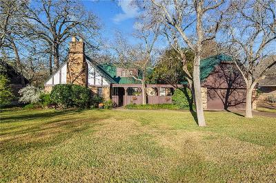 College Station Single Family Home For Sale: 1307 Angelina