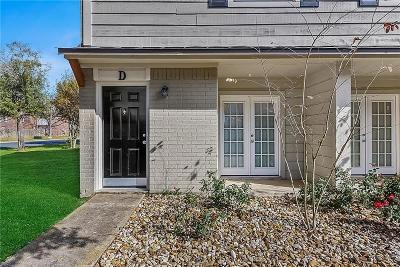 College Station Condo/Townhouse For Sale: 1402 Summit Street #D
