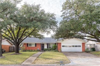 Bryan Single Family Home For Sale: 1113 Lamar Drive