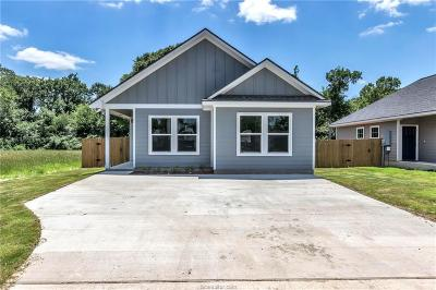 Bryan , College Station Single Family Home For Sale: 1211 Lincoln Street
