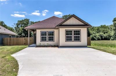 Bryan , College Station Single Family Home For Sale: 1205 Lincoln Street