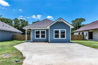 Bryan , College Station Single Family Home For Sale: 1203 Lincoln Street