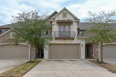 College Station Condo/Townhouse For Sale: 1458 Crescent Ridge Drive