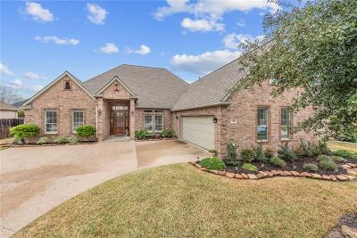 Bryan Single Family Home For Sale: 3310 Woodcrest Drive