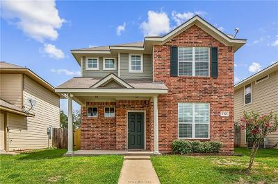 College Station Single Family Home For Sale: 2921 McLaren