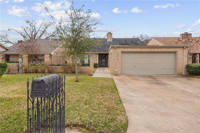 Bryan Single Family Home For Sale: 3010 Gleneagles Court