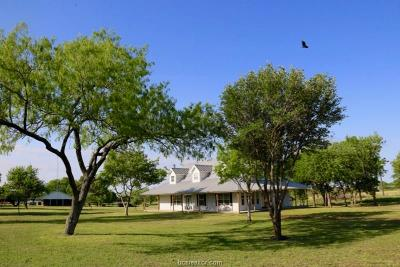 Navasota Single Family Home For Sale: 22168 Fm 159