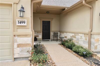 Condo/Townhouse For Sale: 1499 Buena Vista