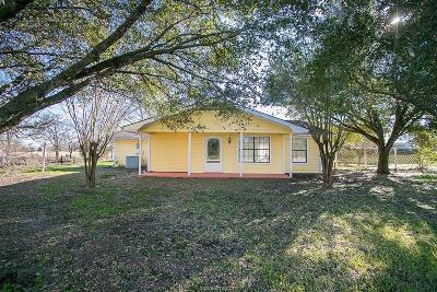 Burleson County Single Family Home For Sale: 755 Fm 60 W