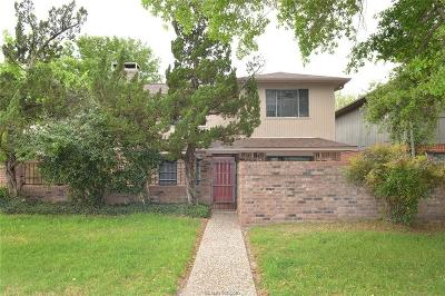 Bryan Single Family Home For Sale: 2903 Broadmoor