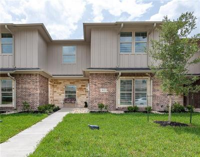 Brazos County Condo/Townhouse For Sale: 3625 Kenyon Drive