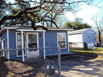 Bryan TX Single Family Home For Sale: $117,000