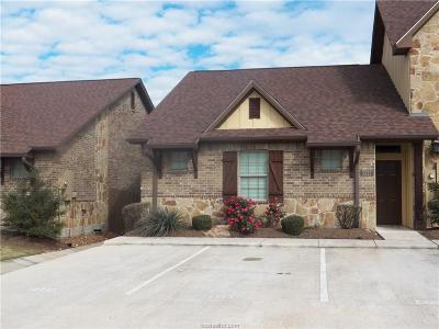 Brazos County Condo/Townhouse For Sale: 3327 Airborne