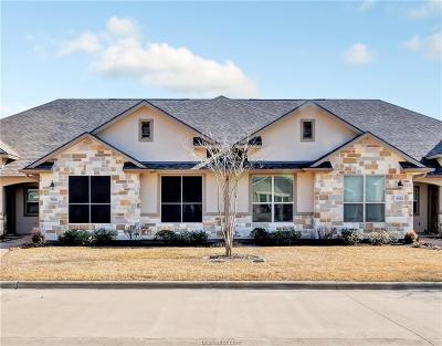 College Station Condo/Townhouse For Sale: 3814 Estes
