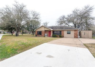 Bryan , College Station Single Family Home For Sale: 2900 Willhelm Drive