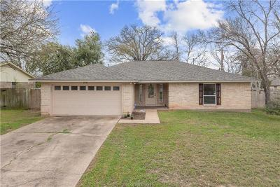 Bryan Single Family Home For Sale: 2911 Oakside Drive