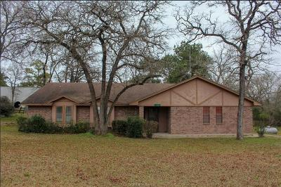 Hearne Single Family Home For Sale: 11901 North Hummingbird Lane