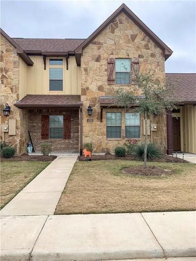 College Station Condo/Townhouse For Sale: 439 Momma Bear Drive