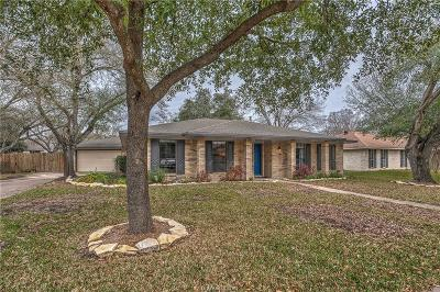 College Station Single Family Home For Sale: 1409 Todd Trail
