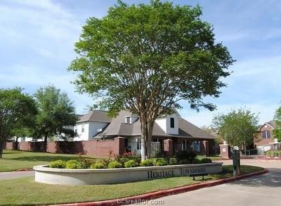 College Station Condo/Townhouse For Sale: 1603 Culture Pvt Lane
