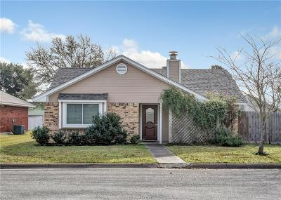 College Station TX Single Family Home For Sale: $225,000