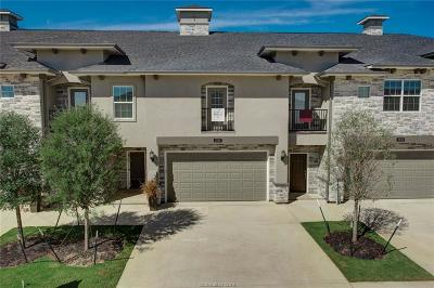College Station Condo/Townhouse For Sale: 3405 Papa Bear Drive