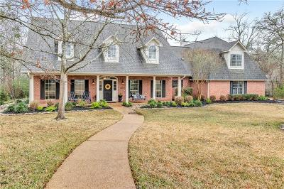 College Station TX Single Family Home For Sale: $775,000
