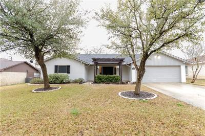 Bryan TX Single Family Home For Sale: $218,000