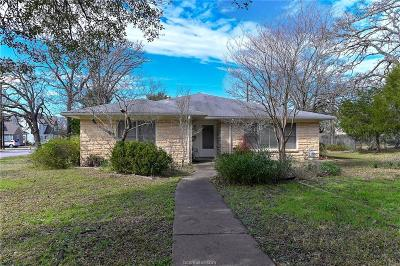 Brazos County Single Family Home For Sale: 316 Tee Drive