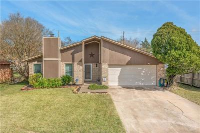 Bryan TX Single Family Home For Sale: $182,500