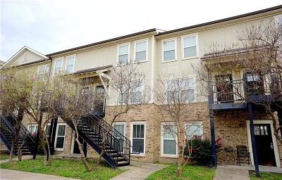 College Station Condo/Townhouse For Sale: 1725 Harvey Mitchell #1625