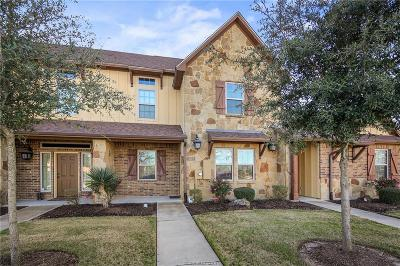 College Station TX Condo/Townhouse For Sale: $235,000