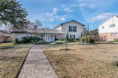 Bryan Single Family Home For Sale: 3704 Oak Ridge Drive