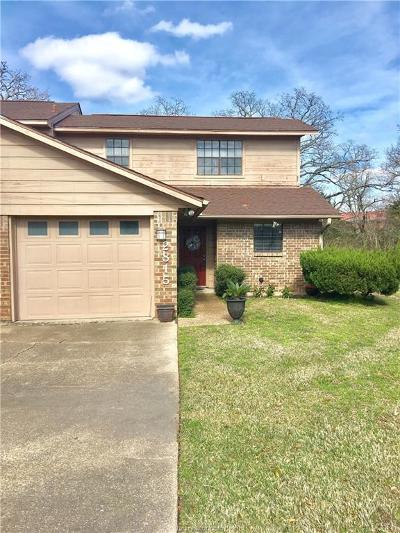 Bryan TX Condo/Townhouse For Sale: $135,000
