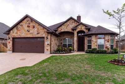 Brazos County Single Family Home For Sale: 2104 Chestnut Oak Circle