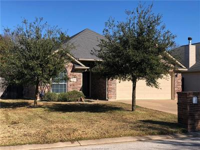 College Station TX Single Family Home For Sale: $240,000