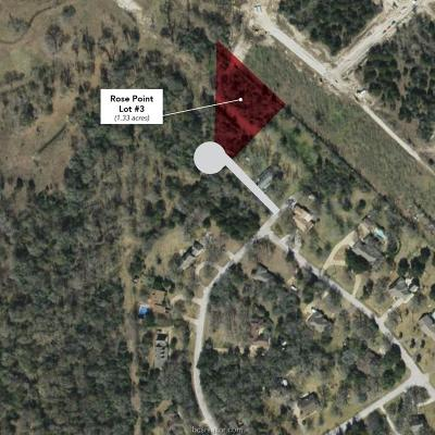 bryan Residential Lots & Land For Sale: 7013 Rose Point Court