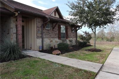 Brazos County Single Family Home For Sale: 4100 Gunner