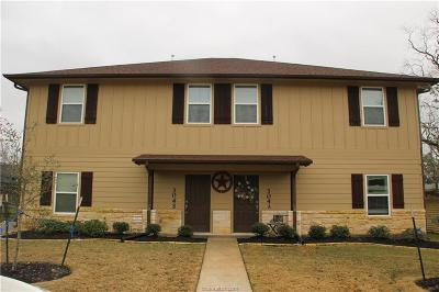 Brazos County Multi Family Home For Sale: 304 Ash Street #CS