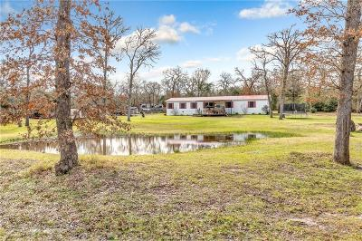 Burleson County Single Family Home For Sale: 107 Lakewood