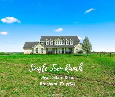 Washington County Single Family Home For Sale: 2650 Dillard Road