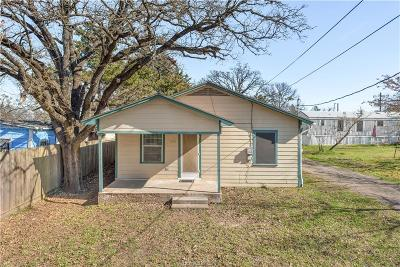 Bryan , College Station Single Family Home For Sale: 1504 Vincent Street